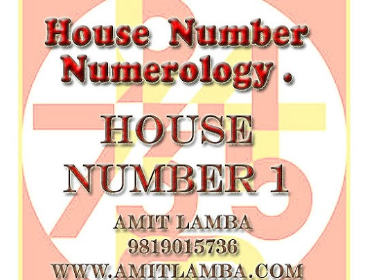 House Number Numerology .