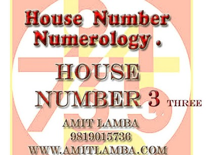 NUMEROLOGY FOR NUMBER 3 HOUSE