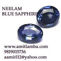 Neelam Gemstone Blue Sapphire