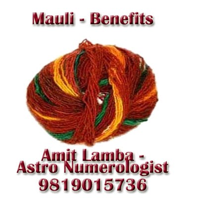 mauli Benefits , Best Astrologer Mumbai,.